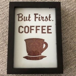 Wall hanging sign